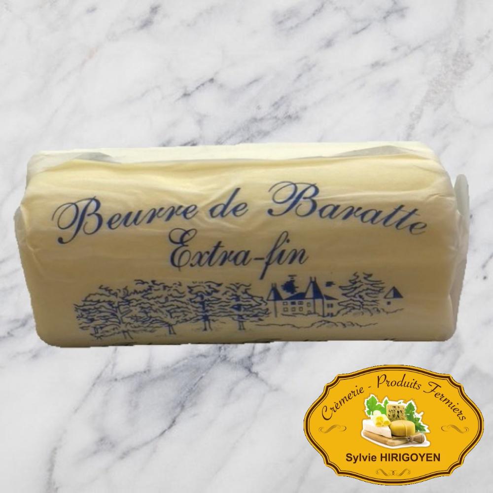 BEURRE DE BARATTE EXTRA FIN