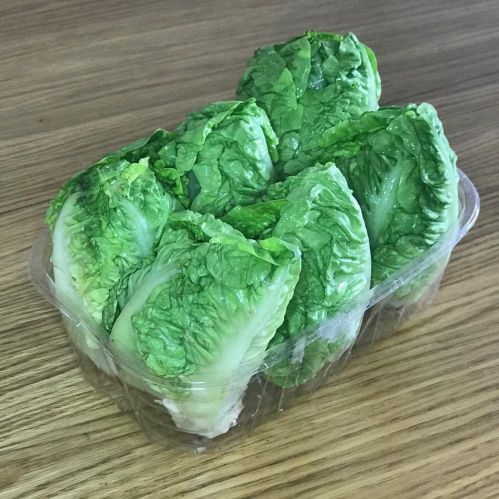 Salade sucrine - barquette 6 coeurs